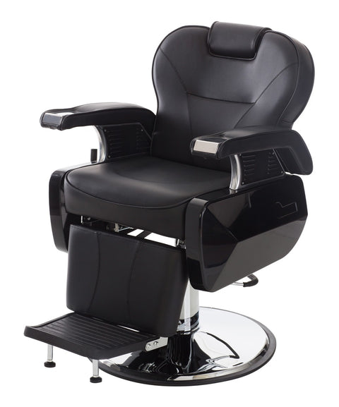 Big-D Deluxe Heavy Duty Barber Chair 3/4 View