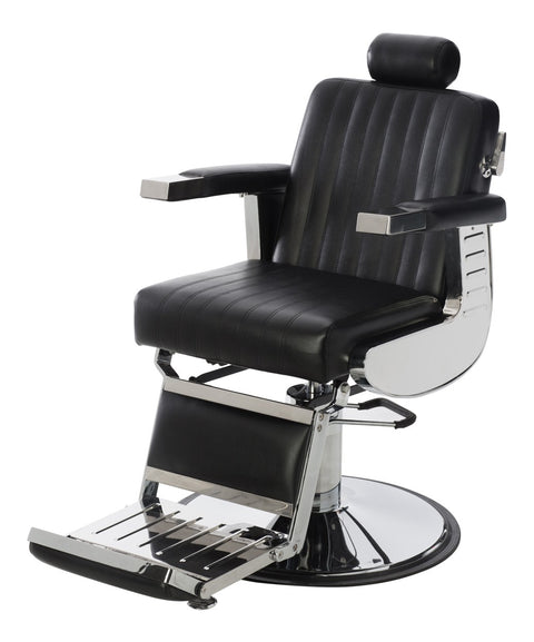 Empire Professional Heavy Duty Barber Chair 3/4 View