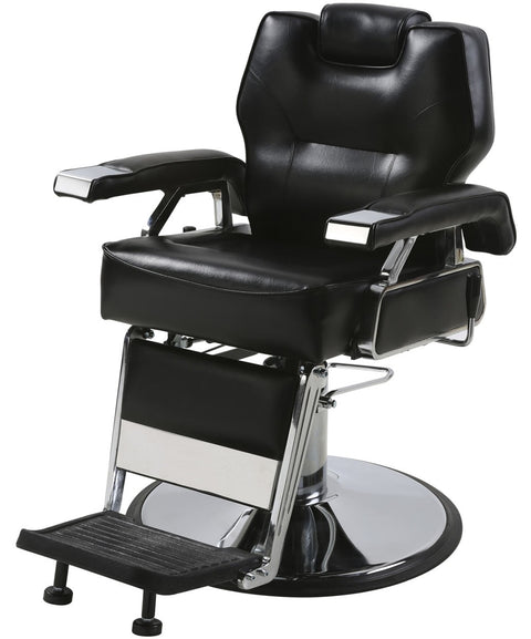 KO Professional Heavy Duty Multi-Purpose Barber Chair 3/4 View