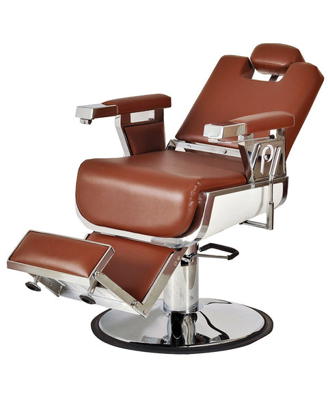 Pibbs Seville Heavy Duty Barber Chair 3/4 View