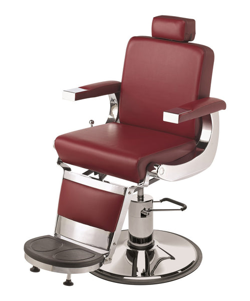 Pibbs Barbiere Heavy Duty Barber Chair 3/4 View
