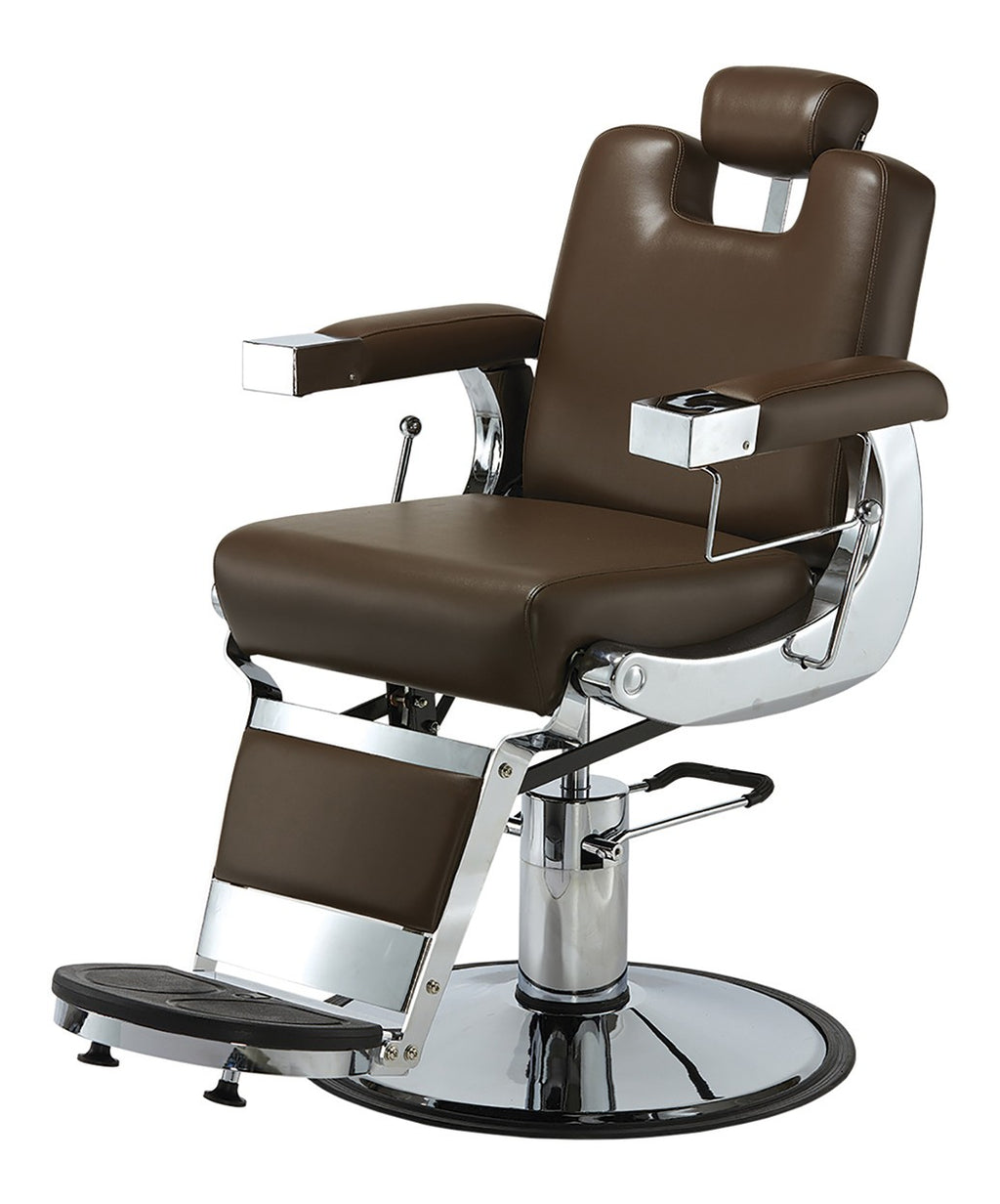 Pibbs Capo Heavy Duty Barber Chair 3/4 View