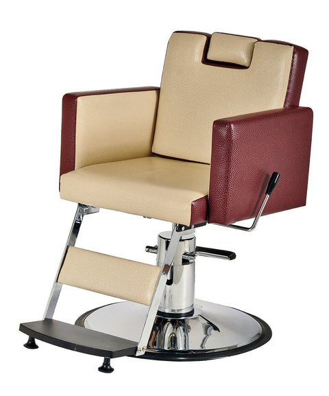 Pibbs Cosmo Heavy Duty Barber Chair 3/4 View