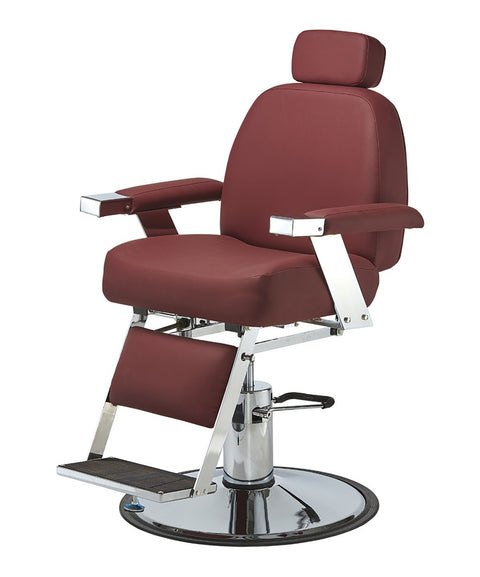 Pibbs Duke Heavy Duty Barber Chair 3/4 View