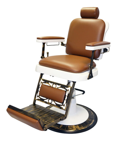 Pibbs King Classic Barber Chair 3/4 View
