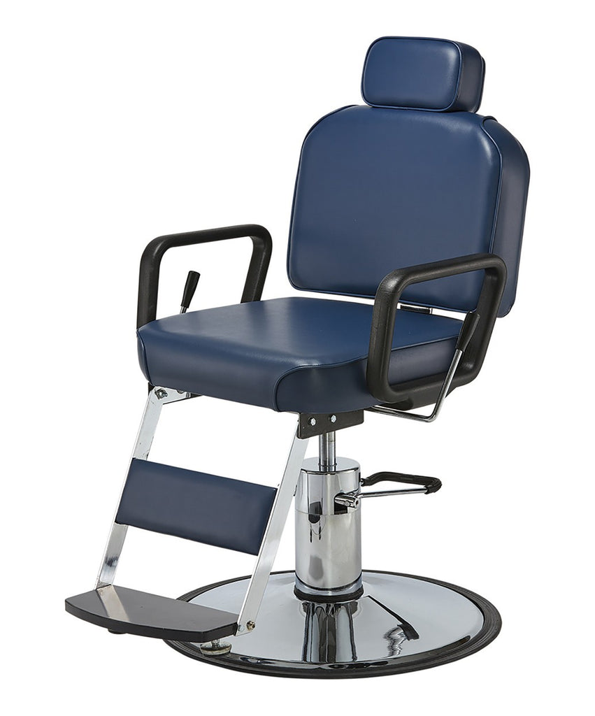 Pibbs Prince Barber Chair 3/4 View