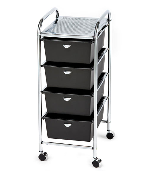 Pibbs D26 4-Drawer Utility Cart