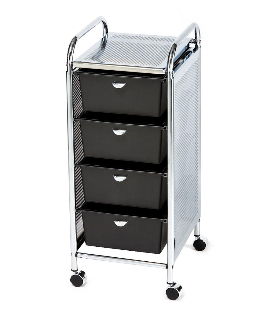 Pibbs D27 4-Drawer Salon Utility Cart
