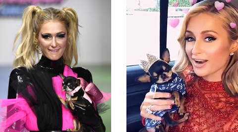 Diamond Baby and her Mom Paris Hilton