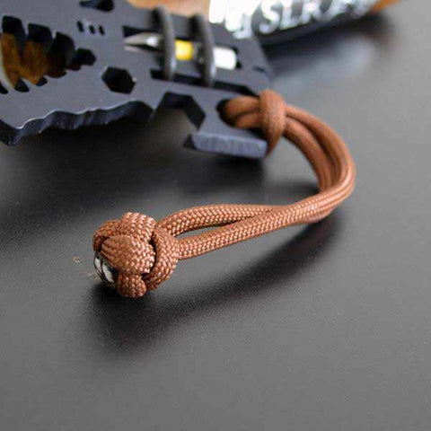 Image of Diamond Knot Paracord Lanyard Multiple colors available
