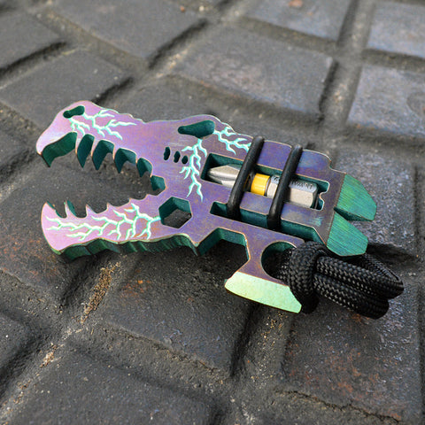 Image of Vice Anvil Tactical Titanium Jurassic Croc Multi-Tool