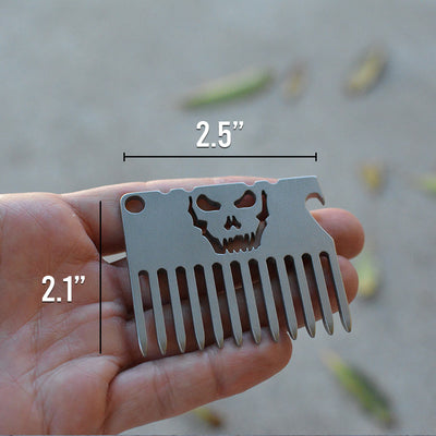 The Vice Anvil Beard Comb