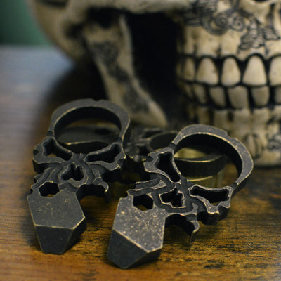 Dread Skull - Fossilized Brass