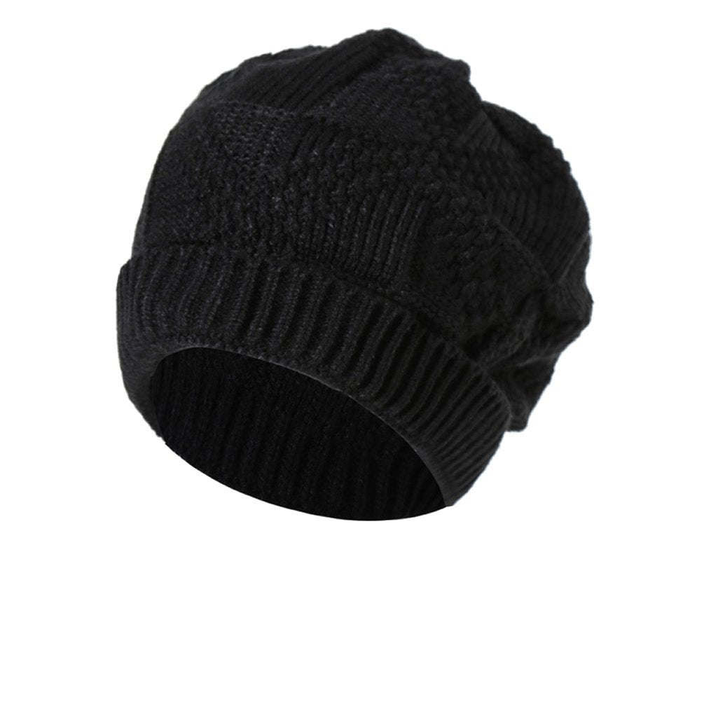 dbcc2c48605 ... Servefox Unisex Slouchy Winter Hats Knitted Beanie Caps For Men and Women  Skull Caps ...