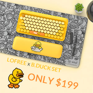 An Exciting New Lofree X B.Duck Collab
