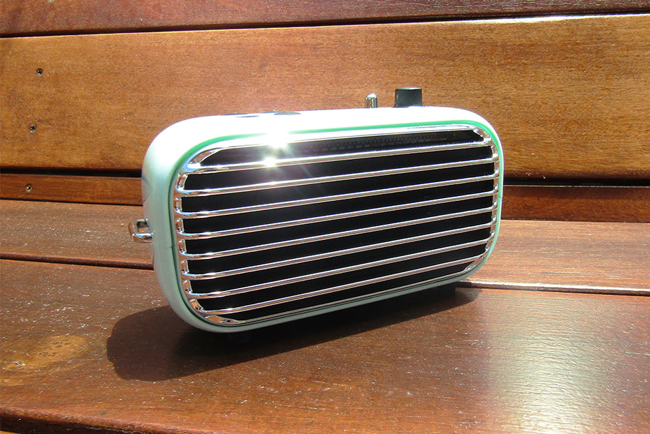This Cute Retro Bluetooth Speaker Packs a Powerful Punch