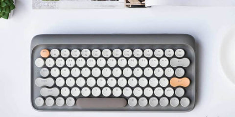This mechanical wireless keyboard combines the best of new