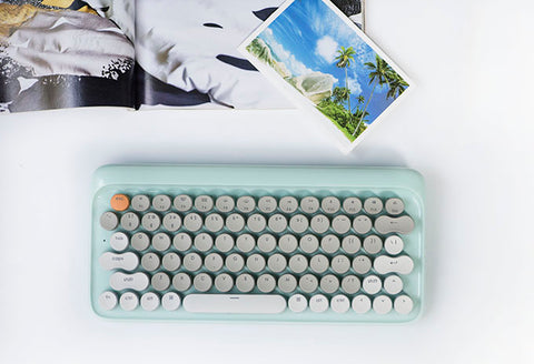 Lofree Four Seasons Mechanical Keyboard (Blue - Summer)