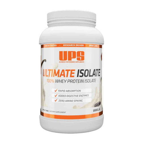 Ultimate Isolate 100% Whey - 908g - Supplement Essentials