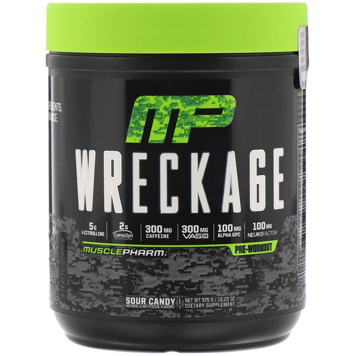 MusclePharm Wreckage 25 Serve - Supplement Essentials