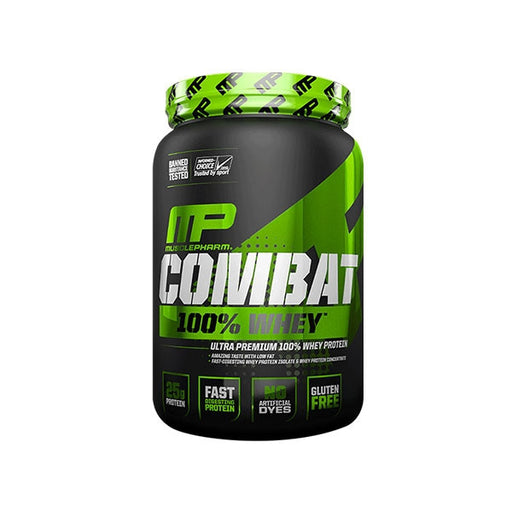 Muscle Pharm Combat 100% Whey - 2lb (907gm) - Supplement Essentials