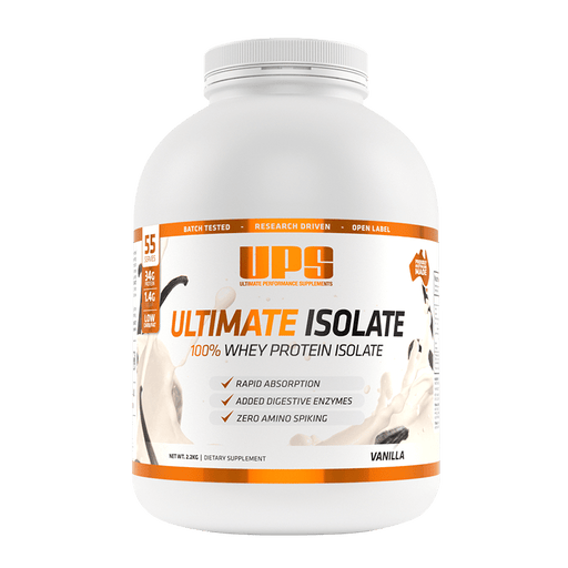 Ultimate Isolate 100% Whey - 2.2kg - Supplement Essentials