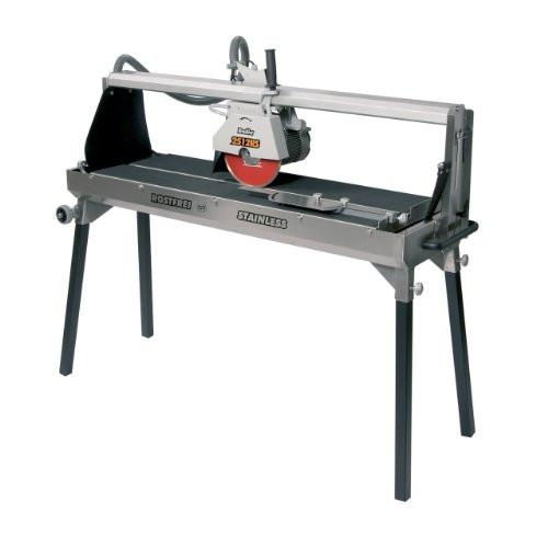 "Rodia 2512RS - 48"" Stainless Steel Tile Saw"