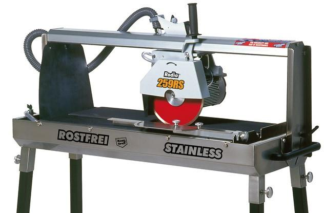 "Rodia 259RS - 34"" Stainless Steel Tile Saw"