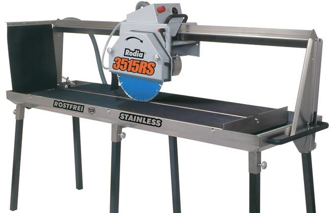 "Rodia 3515RS - 60"" Stainless Steel Tile Saw"