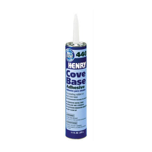 Henry 440 Cove Base Adhesive - 30 oz. Tube