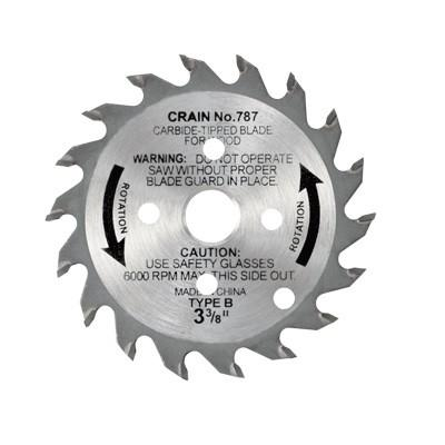 Carbide Tipped Toe-Kick Saw Blade - Crain #787