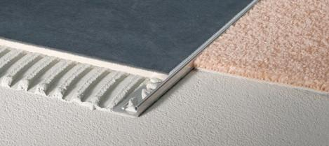 Ceramic Tile Edge Protector - Stainless Steel - 4 Different Finishes