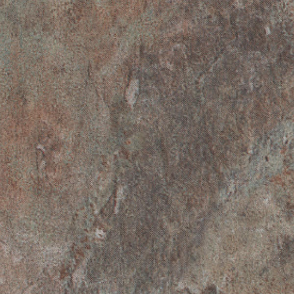 Burke Luxury Vinyl Tile - Rusty Gray Slate