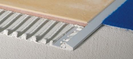 Tile Reducer Trim - Aluminum or Stainless Steel