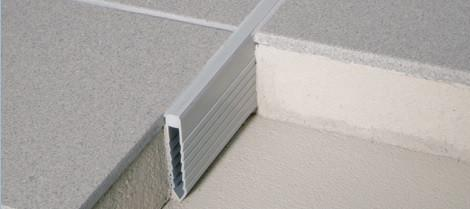 V-Screed Expansion Joints