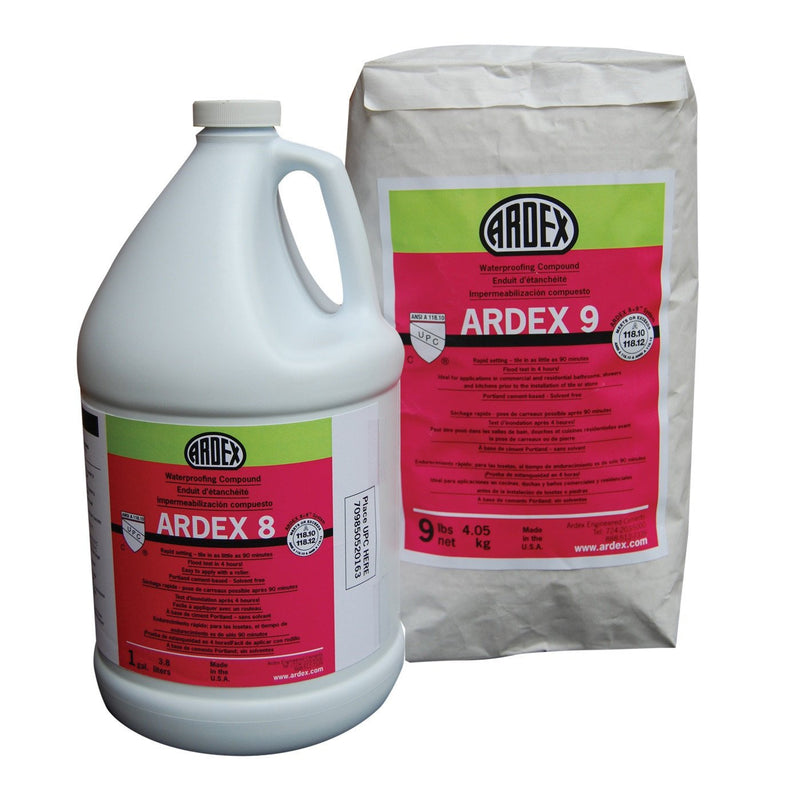 Ardex 8+9 Waterproofing Membrane - Crack Isolation Membrane