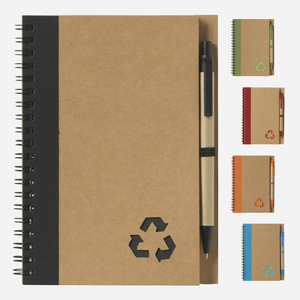 Branded Promotional A5 Eco Trim Notebook