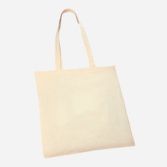 Branded Promotional Natural Cotton Shopper Bag