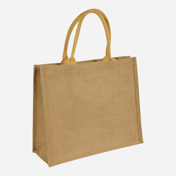 Branded Promotional Short Handled Jute Bag
