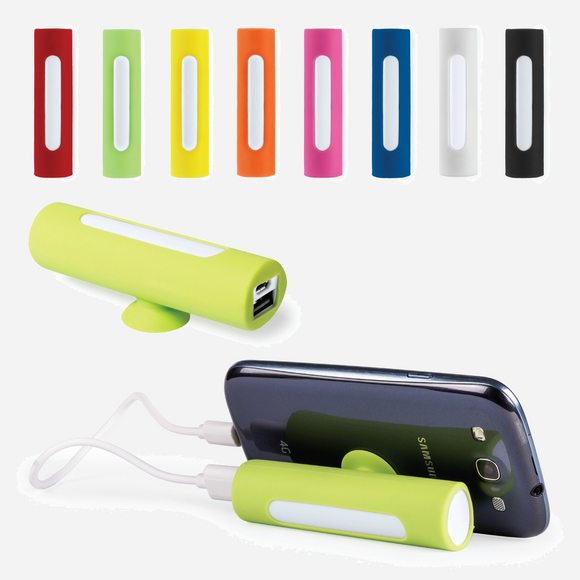 Branded Promotional Suction Cup Phone Stand Battery Pack