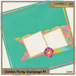 Free Quickpage: Garden Party #1