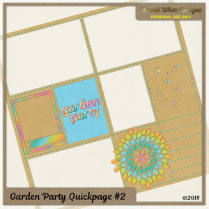 Free Quickpage: Garden Party #2