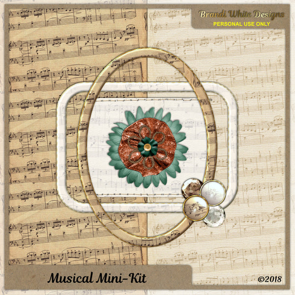 Brandi White Designs Musical Mini-Kit