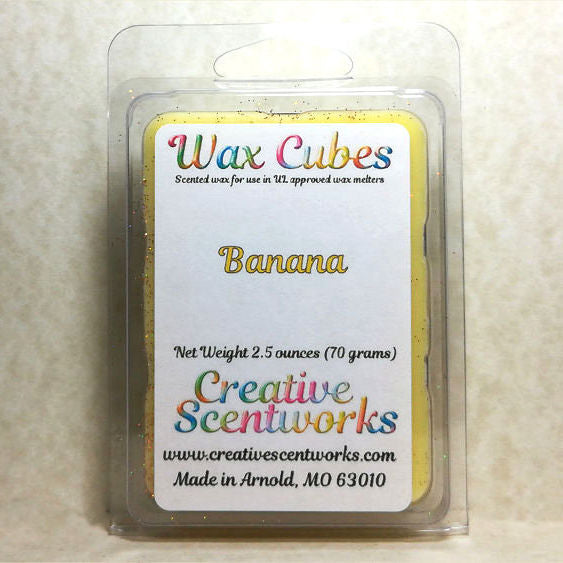 Banana Scented Wax Melts