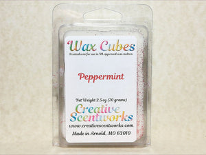 Peppermint Scented Wax Melts