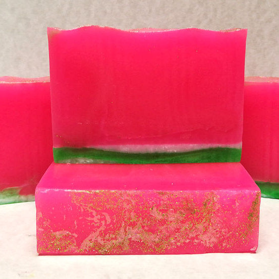 Seedless Watermelon Scented Glycerin-Based Soap