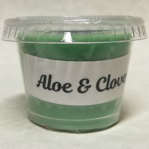 Tiny Wax Cup - Aloe & Clover