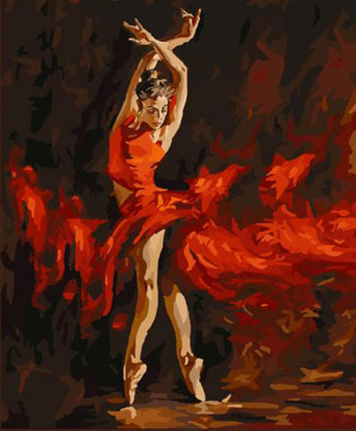 Dancer in Red G286