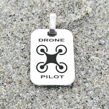 STERLING SILVER DRONE PILOT MEDAL