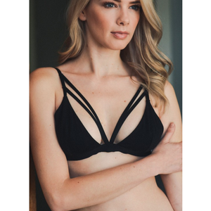 Beautiful Double Strap Front Bralette